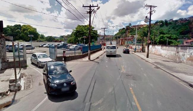 Crime aconteceu na Baixa do Fiscal, próximo à Delegacia de Furtos e Roubos - Foto: Reprodução   Google Street View