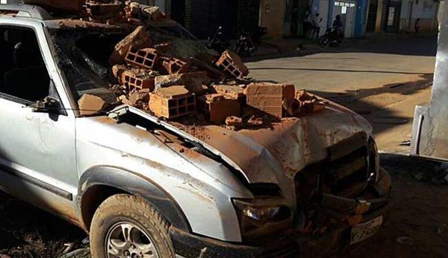 Não tinha ninguém na casa na hora do acidente - Foto: Blog do Braga | Repórter Paiva