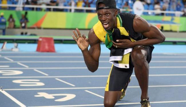 Bolt fechou o revezamento 4 x 100 da Jamaica na noite desta sexta-feira, 19 - Foto: Phil Noble | Reuters