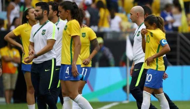 Brasileiras perderam nos pênaltis e adiaram mais uma vez o sonho do ouro olímpico - Foto: Agência Reuters