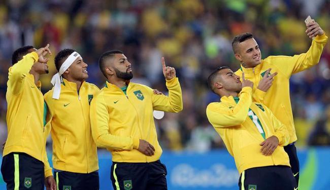 Jogadores demonstraram que críticas incomodaram - Foto: Bruno Kelly   Agência Reuters