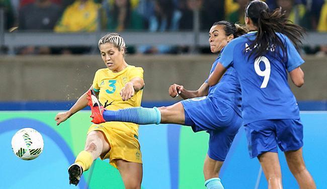 Meninas do Brasil foram superiores e criaram boas oportunidades de gol - Foto: Mariana Bazo l Reuters