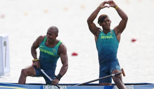 Isaquias se tornou o primeiro brasileiro a ganhar 3 medalhas numa mesma Olimpíada - Foto: Marcos Brindicci | Reuters