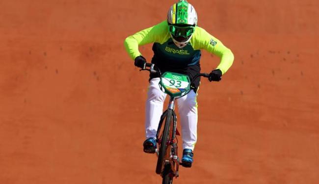 Priscilla completou o percurso em 37,5 segundos e terminou em 15º - Foto: Paul Hanna   Reuters