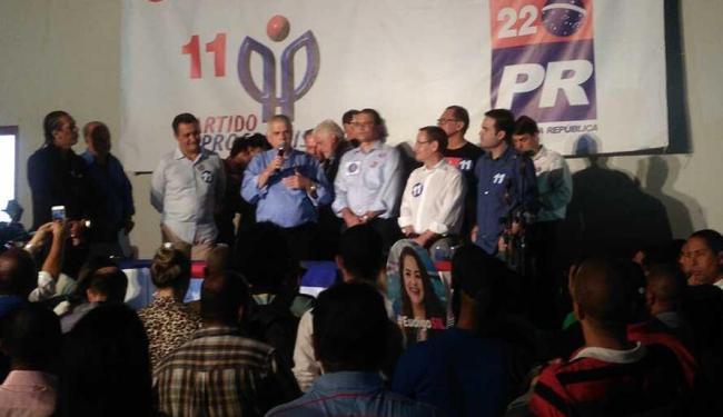 Convenção do Partido Progressista confirmou Cláudio Silvo como candidato - Foto: Luan Santos | Ag. A TARDE