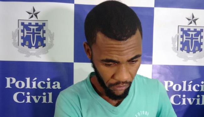 Dário Andrade Salomão, 27 anos, filmava o estupro e ameaçava divulgar imagens, segundo a polícia - Foto: Edilson Lima   Ag. A TARDE
