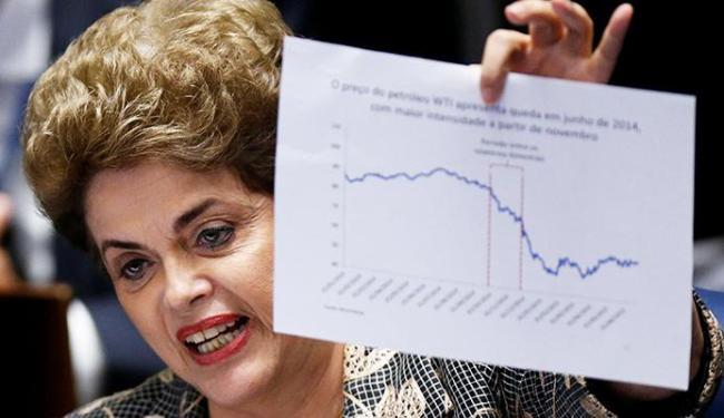 Dilma apresentou gráficos e dados para mostrar que a crise econômica mundial se deterioro - Foto: Ueslei Marcelino | Agência Reuters