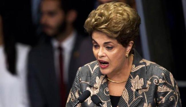 Dilma foi pessoalmente ao Senado para fazer a sua defesa - Foto: Marcelo Camargo   Agência Brasil