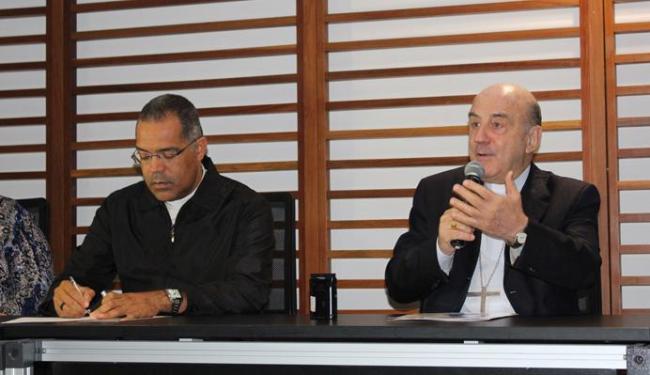 Dom Murilo falou sobre a importância da chegada da imagem a Salvador - Foto: Pascom | Divulgação