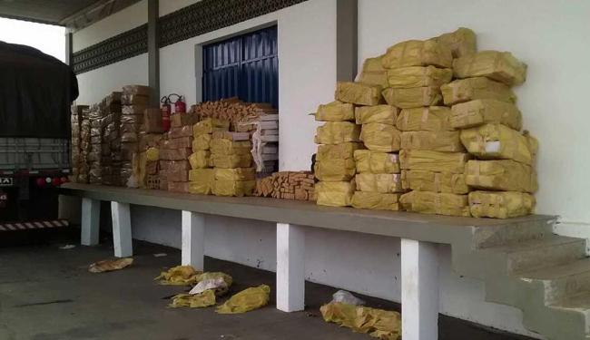 Droga estava escondida em caminhão - Foto: Ascom   Sefaz-Ba