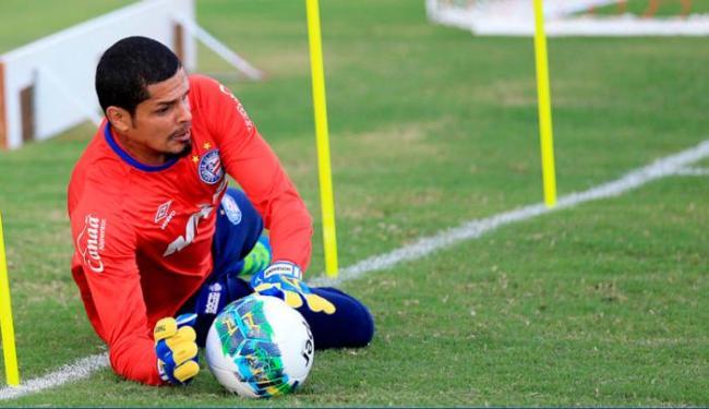 Anderson foi contratado para preencher a posição após empréstimo de Douglas Pires - Foto: Felipe Oliveira | EC Bahia