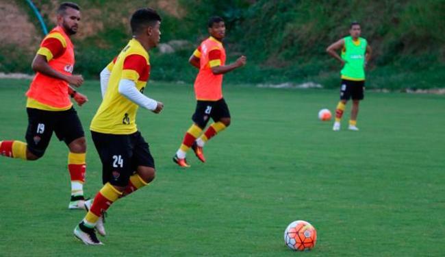 Os jogadores que participaram do duelo contra o Corinthians não foram a campo - Foto: Francisco Galvão | EC Vitória