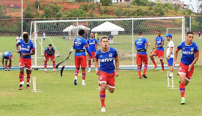 Edigar Junio marcou nos dois jogos do Bahia no 2º turno - Foto: Felipe Oliveira l EC Bahia l Divulgação