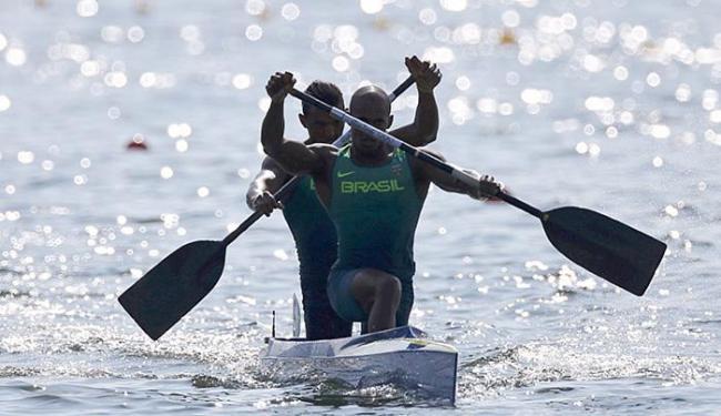 Erlon e Isaquias são os atuais campeões mundiais da prova - Foto: Marcos Brindicci l Reuters