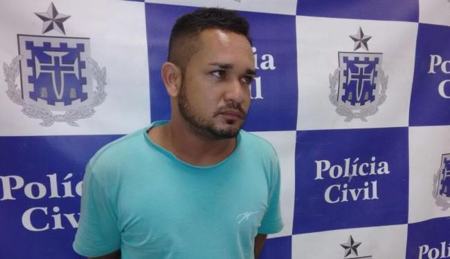 Fábio Monteiro, 29, estava com arma de brinquedo - Foto: Edilson Lima | Ag. A TARDE