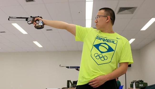 Brasileiro Felipe Wu foi apontado como candidato a uma medalha no Tiro - Foto: Rafael Bello | COB