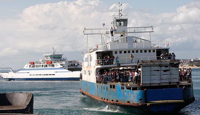 Acidente aconteceu logo após ferry deixar terminal - Foto: Margarida Neide | Ag. A TARDE