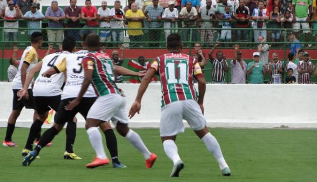 O Flu lutou muito, mas perdeu para o Volta Redonda em casa - Foto: Divulgação | FC Fluminense de Feira