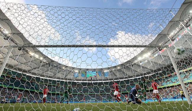 Durante a Olimpíada, Fonte Nova recebeu 10 jogos em 9 dias; agora, receberá 3 em 4 dias - Foto: Raul Spinassé l Ag. A TARDE