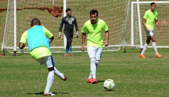 A seleção de futebol de 7 está treinando em Cotia desde o último dia 22 - Foto: Rovena Rosa | Ag. Brasil