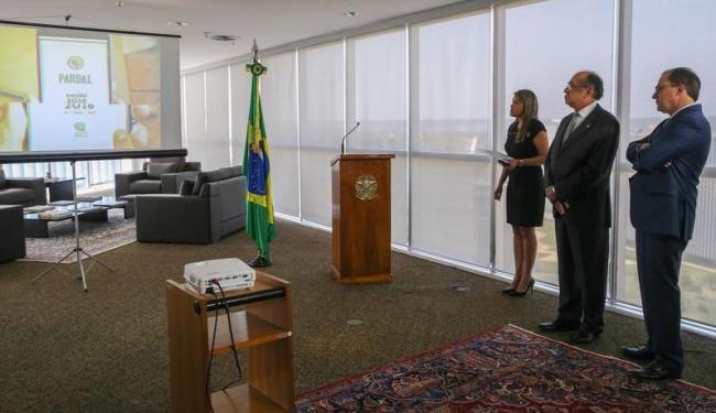 Ministro do TSE Gilmar Mendes lança o Pardal - Foto: José Cruz | Agência Brasil