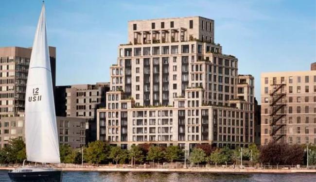 Edifício onde irá morar ficará pronto em 2018 - Foto: Divulgação