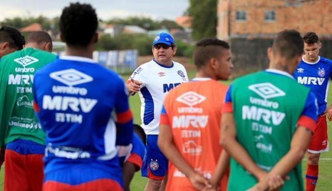 Time contra Paraná não lembra em nada o do 1º turno - até técnico mudou - Foto: Felipe Oliveira l EC Bahia
