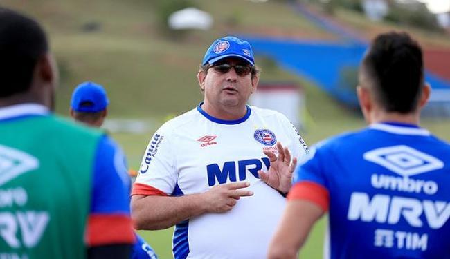 Guto Ferreira admite que time está devendo e evita pedir apoio da torcida - Foto: Felipe Oliveira | EC Bahia | Divulgação
