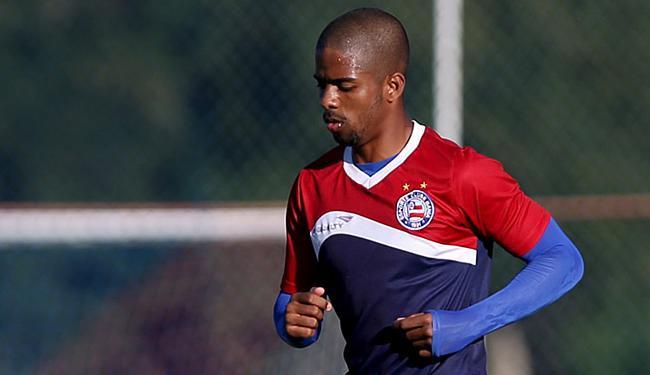 Hayner fica no Timbu até o final deste ano. - Foto: Felipe Oliveira l EC Bahia