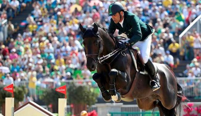 Campeão olímpico, Rodrigo Pessoa não participou desta edição dos Jogos - Foto: Tony Gentile   Reuters