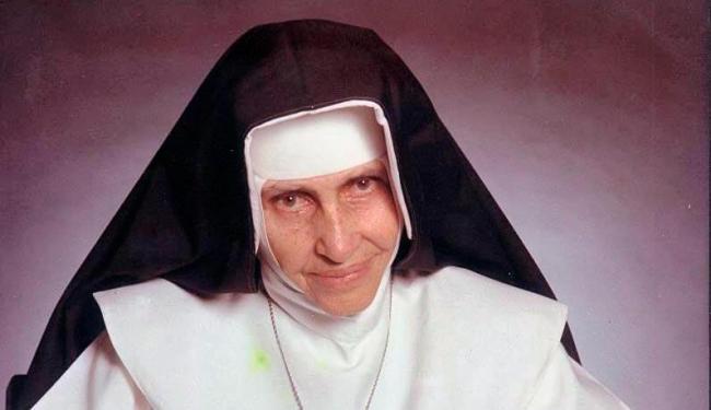 Faria 83 anos em que Irmã Dulce foi para congregação em Sergipe - Foto: Reprodução