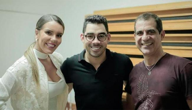 Encontro em Salvador reuniu Katê, Gabriel Diniz e Durval Lellys - Foto: Divulgação