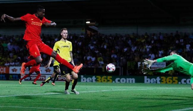 Divock Origi marcou um dos gols do Liverpool - Foto: Lee Smith   Ag. Reuters
