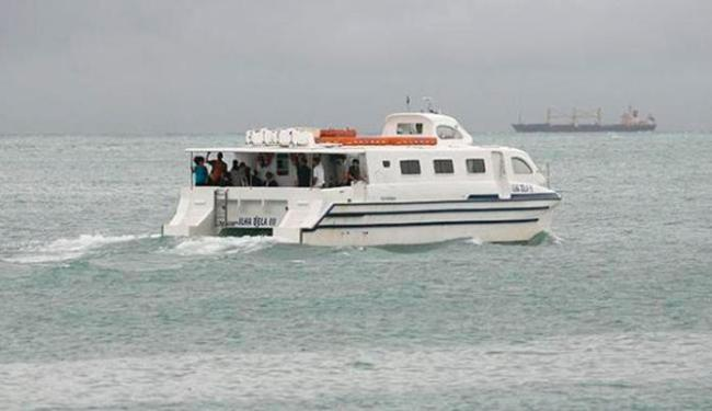 Serviço de travessia deve retornar após a maré voltar a normalidade - Foto: Gildo Lima   Ag. A TARDE