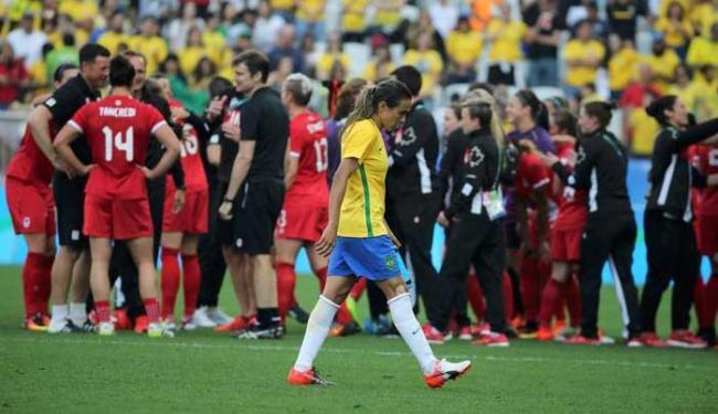 Seleção feminina tentava voltar ao pódio após ficar de fora das semifinais há quatro anos - Foto: Agência Reuters
