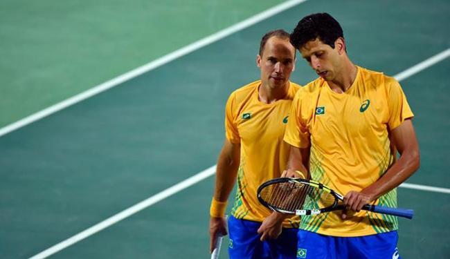 Melo e Soares bateram dupla formada por Djokovic, que deu adeus à Rio 2016 - Foto: Divulgação | Federação Internacional