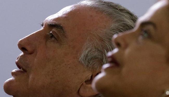 Michel Temer, caso o impeachment seja aprovado, assume o lugar de Dilma Rousseff - Foto: Ueslei Marcelino   Arquivo   Reuters