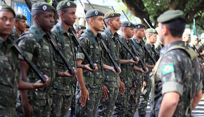 Forças Armadas também darão reforço na segurança da cidade durante os Jogos Olímpicos - Foto: Joá Souza l AG. A TARDE
