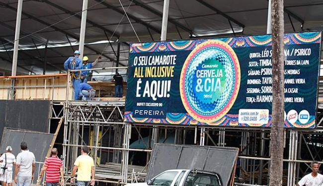 Camarote Cerveja & Cia se une ao do Reino no carnaval 2017 - Foto: Joá Souza l Ag. A TARDE