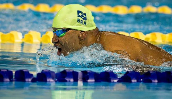 O nadador Ronystony Cordeiro é um dos atletas que passaram a integrar a delegação - Foto: CPB | Divulgação