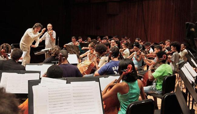 Orquestra em ação: turnê pela Itália, França e Suíça - Foto: Carla Ornelas (Gov-BA) | Divulgação