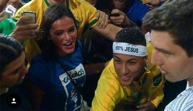 Giovanna Ewbank torce para Neymar e Bruna Marquezine voltarem a namorar