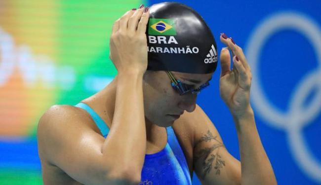 Joanna Maranhão usou as redes sociais para se defender - Foto: Dominic Ebenbichler | Reuters