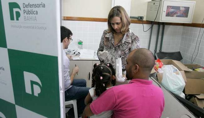 O exame de DNA é oferecido gratuitamente - Foto: Luciano da Matta / Ag. A TARDE.