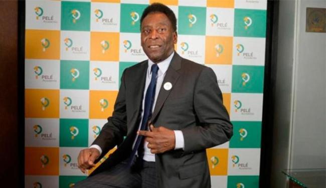 Pelé alegou que não tem condições físicas de participar do evento - Foto: Divulgação