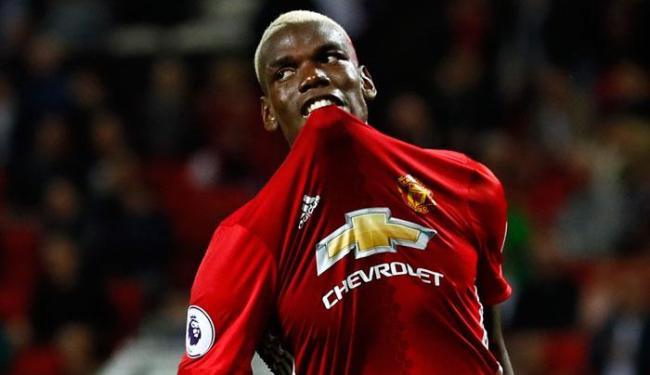 Mourinho surpreendeu ao deixar Pogba jogar os 90 minutos - Foto: Jason Cairnduff   Reuters