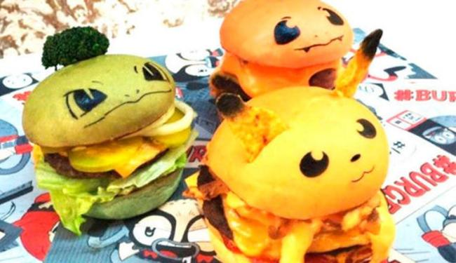 Sanduíches seguem características de Pokémons - Foto: Reprodução