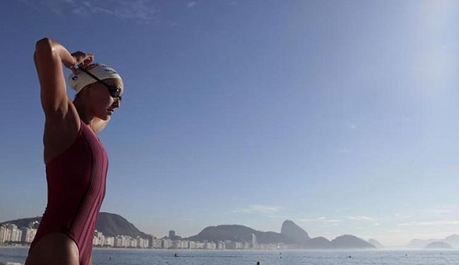 Após o Broze na Rio-2016, a nadadora já pensa nas próximas competições - Foto: Sergio Moraes l Reuters