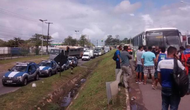 Crimes foram registrados na BR-324 e na Estrada Velha de Pirajá - Foto: Divulgação | Cidadão Repórter