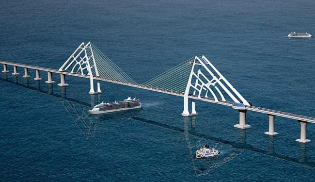 A ponte vai ligar Salvador à Ilha de Itaparica - Foto: Divulgação